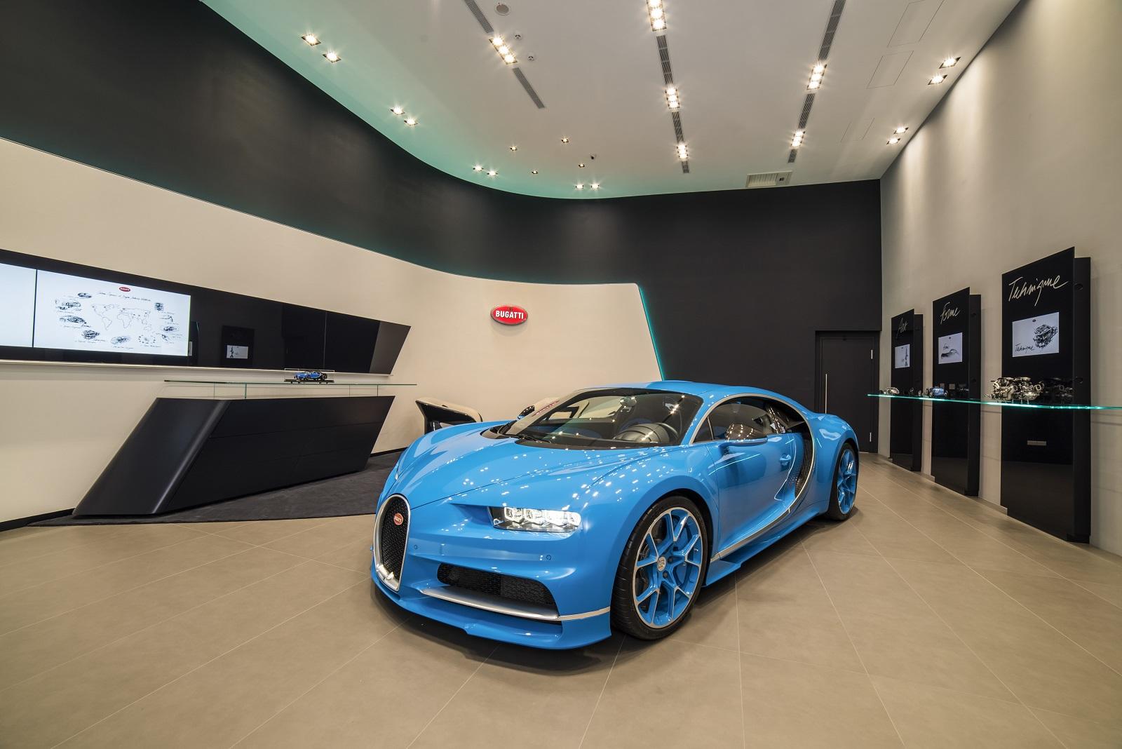 Bugatti Chiron visszahívás