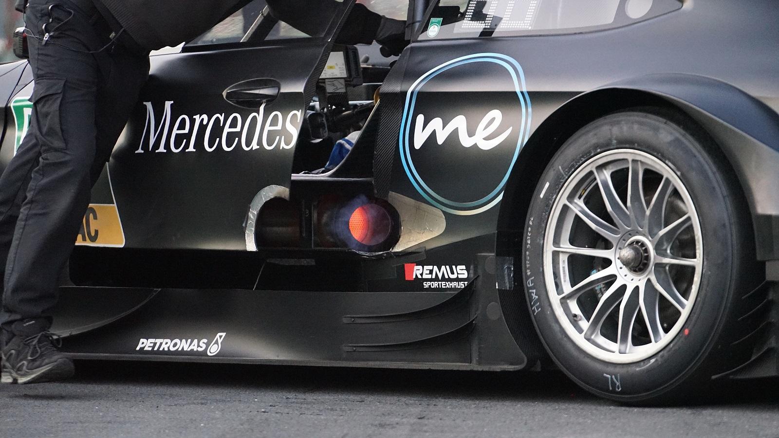 A REMUS és a Mercedes AMG Motorsport DTM Csapata