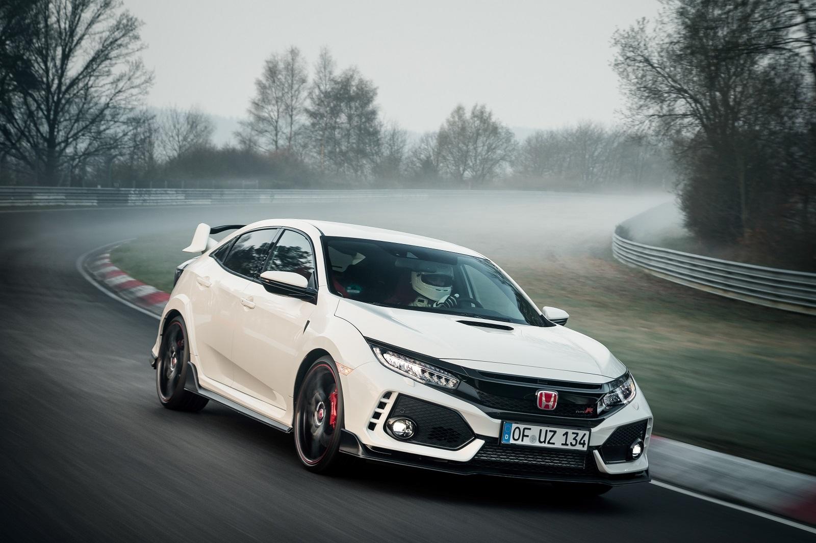 Honda Civic Type R rekord