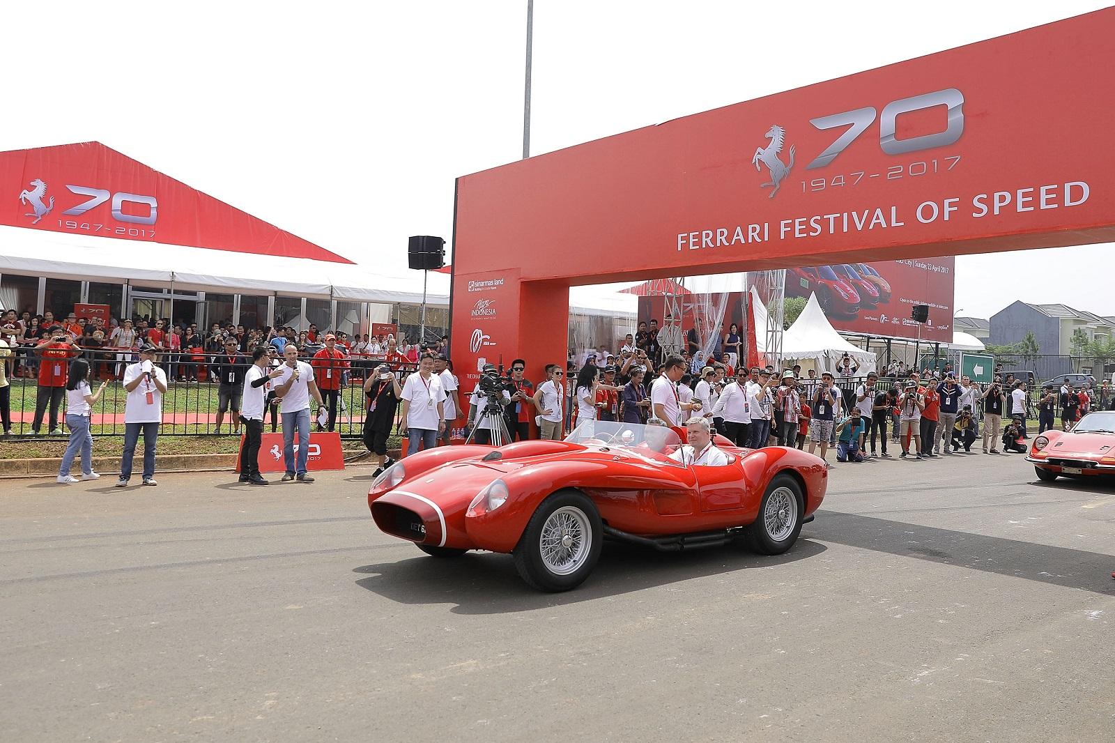 Ferrari Festival of Speed Indonézia