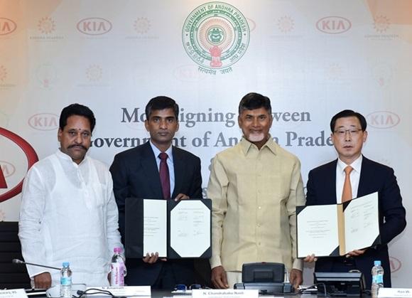 KIA gyárat épít Indiában
