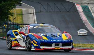 Ferrari Challenge a Hungaroringen