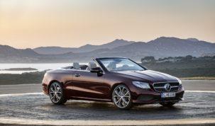 új Mercedes E-Class Cabriolet