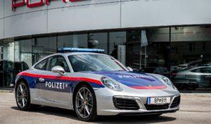 Porsche 911 az osztrák rendőrségnek