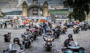 Harley találkozó Prágában