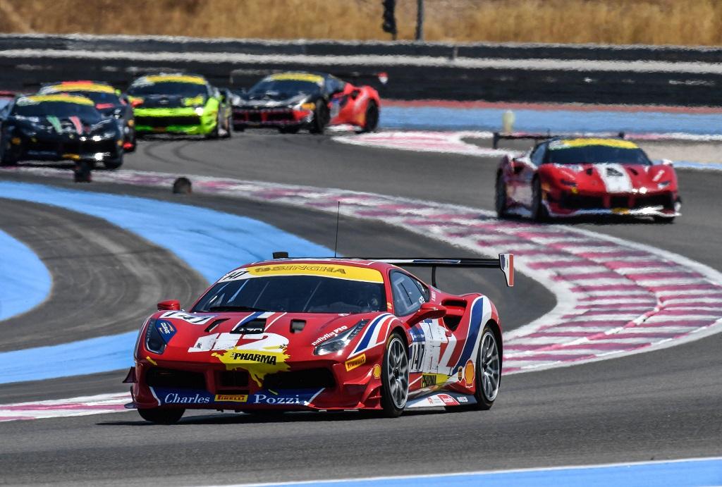 Ferrari Challenge Franciaországban