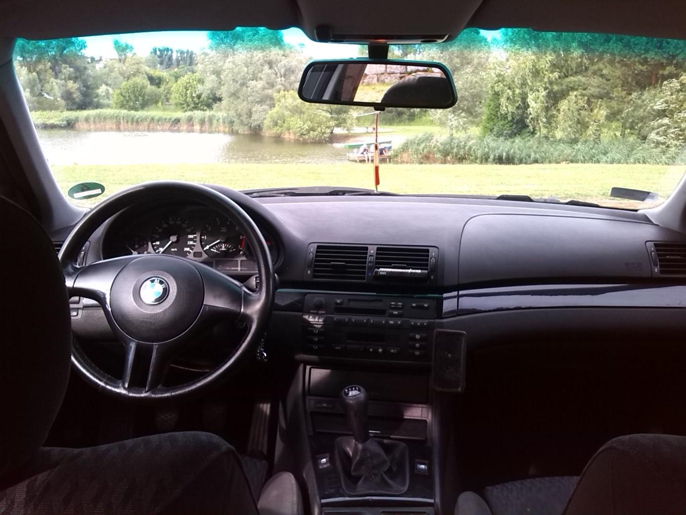 BMW e46325i teszt