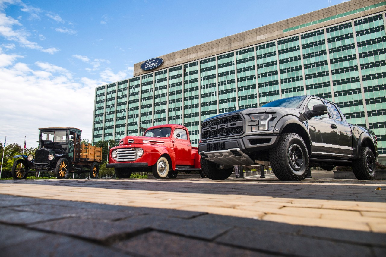 100 éves a Ford pickup