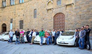 elektromos taxik városa