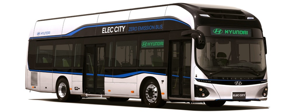 Elektromos busz a Hyundaitól