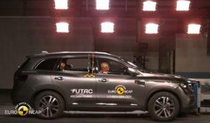 Renault Koleos törésteszt