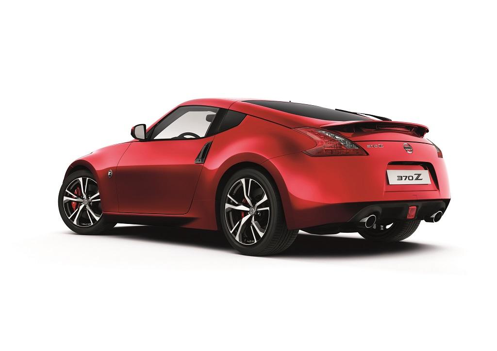 Frissült a Nissan 370Z