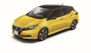 új Nissan Leaf hatótávja