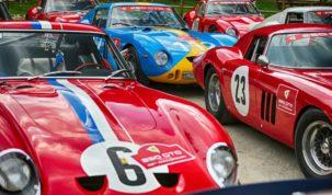 Ferrari 250 GTO-k Maranellóban