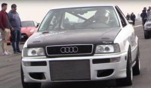 1350 lóerős Audi S2
