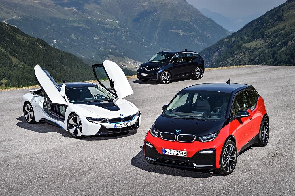 BMW elektromos modellek