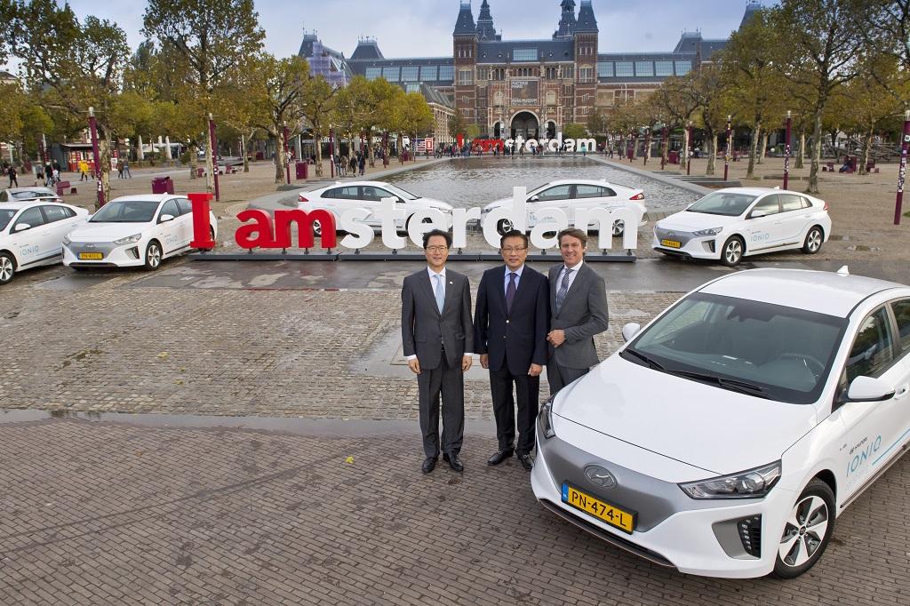 Elektromos Hyundai autómegosztó