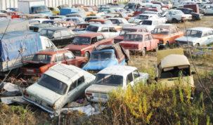 Sok öreg autót importálunk