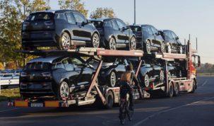 BMW i3 akkumulátortelep