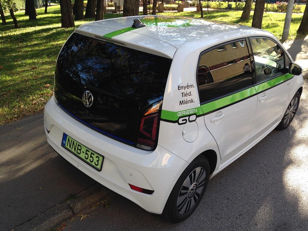 Volkswagen eUp! teszt