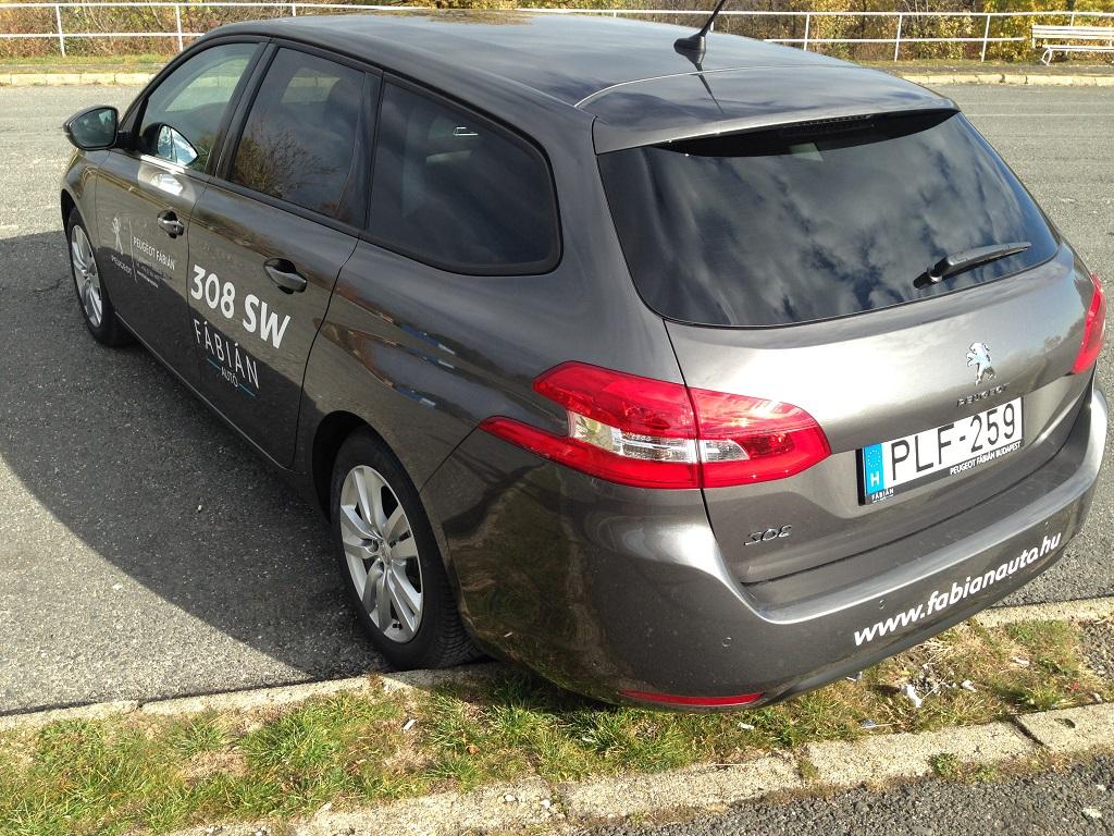 Peugeot 308 SW teszt