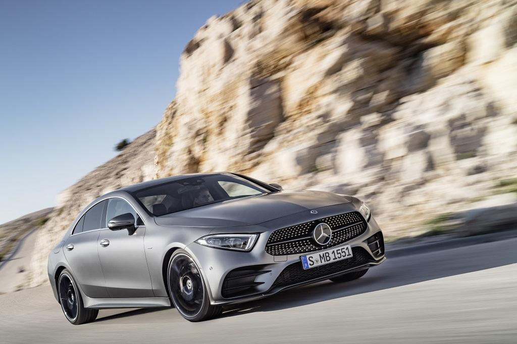 rendelhető az új Mercedes -Benz CLS