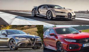 Alfa, Bugatti, Honda díjjak