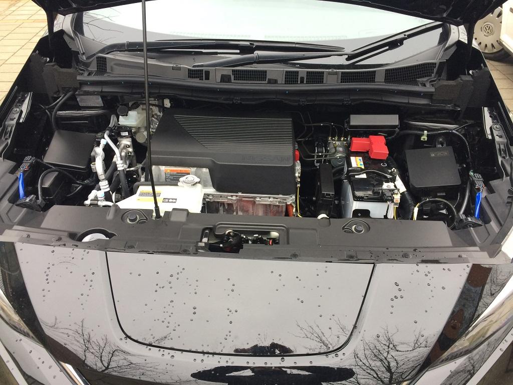 Nissan Leaf 2018 próbakör
