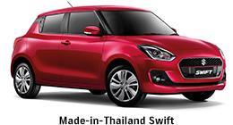 Suzuki Swift automatikusan váltó kézi váltóval