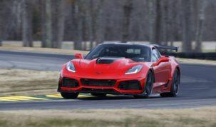 Brutálisat ment a Chevrolet Corvette ZR1