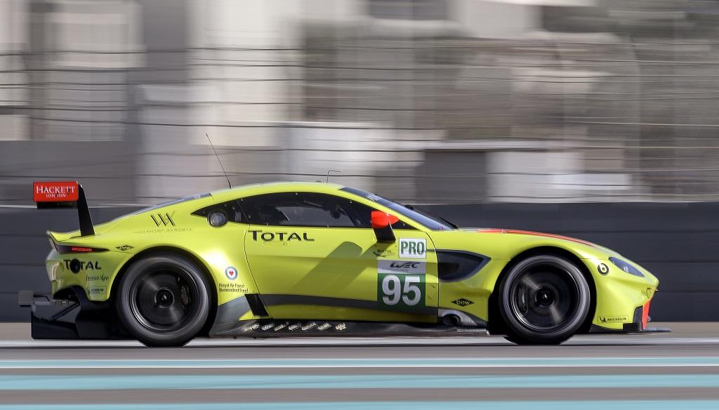 Aston Martin Vantage GTE versenygép