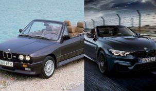 BMW M3 és M4 Cabrio