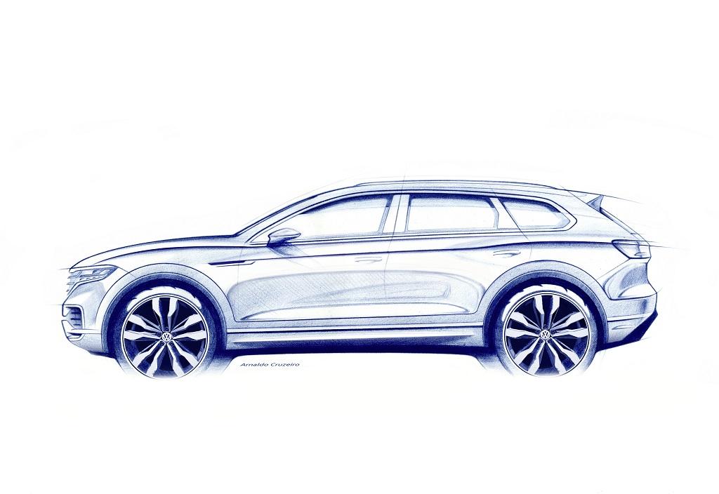 új VW Touareg