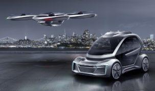 Önvezető autó és utasszállító drón