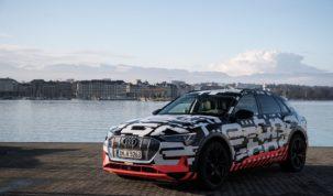 Audi az e-tron prototípus