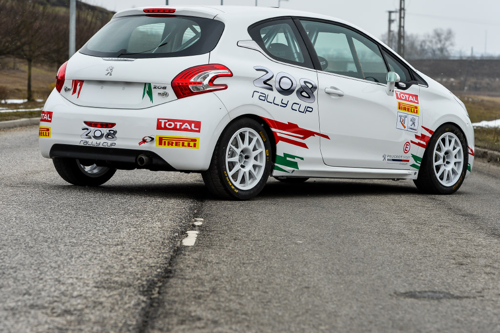Peugeot 208 R2 Rali Kupa