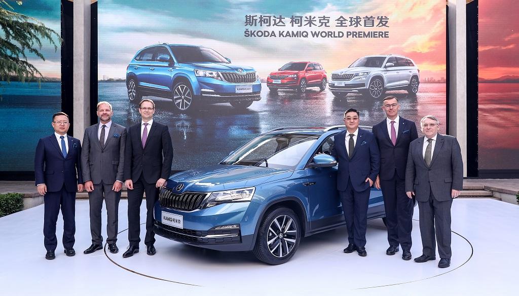 Skoda SUV Kínának
