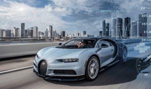 Online autó a la Bugatti