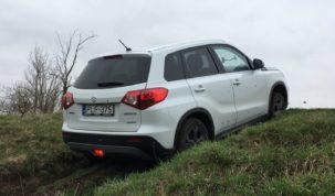 Suzuki Vitara teszt terepen