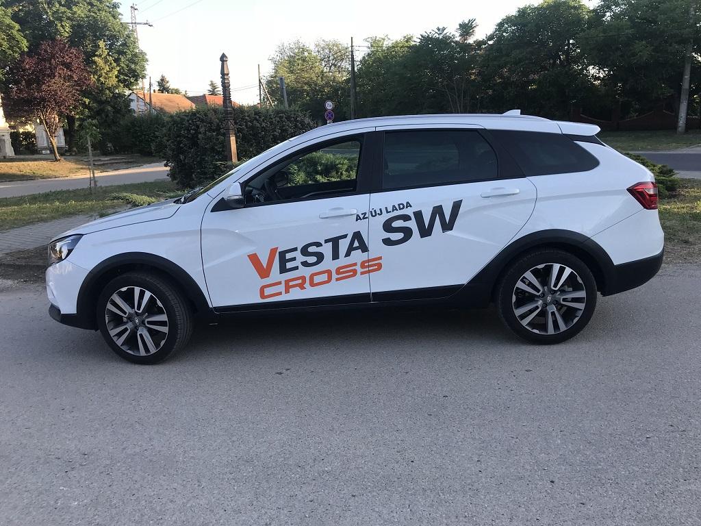 LADA Vesta SW Cross teszt