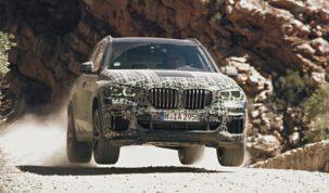 tesztelik az új BMW X5-öst