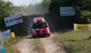 Tim Gábor kiesett az Iseum Rallye-n