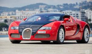 Baleset egy Bugatti Veyronnal 400 km/h-nál
