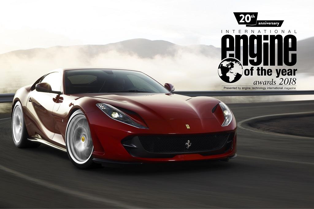 Ferrari turbós V8-as