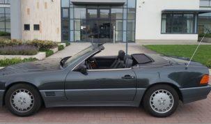 gyári állapotú Mercedes kabriója