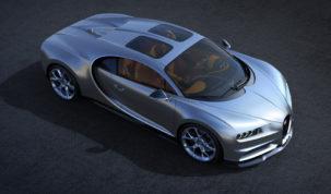 Bugatti Chiron napfénytetővel