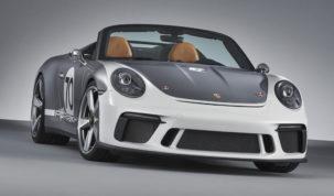 Új Porsche 911 Speedster 2019