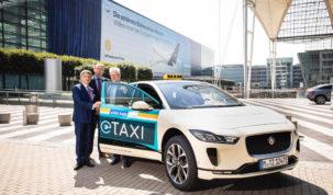 Jaguar I-Pace taxi Münchenben