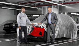 gyártják az Audi e-tron-t