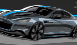 elektromos Aston Martin